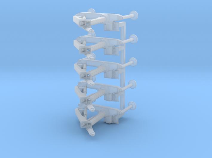 1/160 n scale truck loader crane Ladekran set of 5 3d printed
