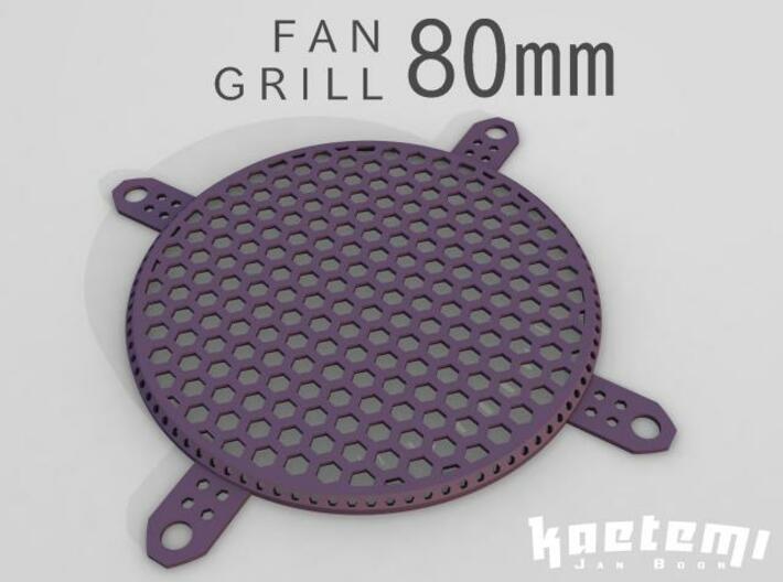 Fan Grill 80mm 3d printed Fan Grill 80mm 3D Render