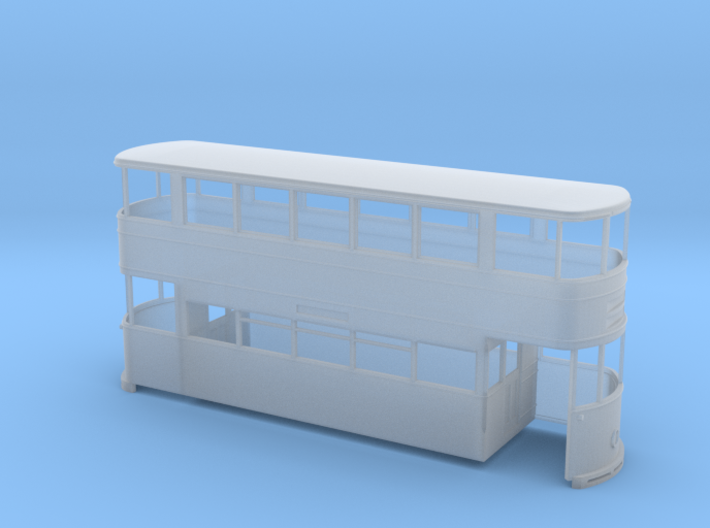 Sheffield Standard Tram Rebuilt 7mm 3d printed