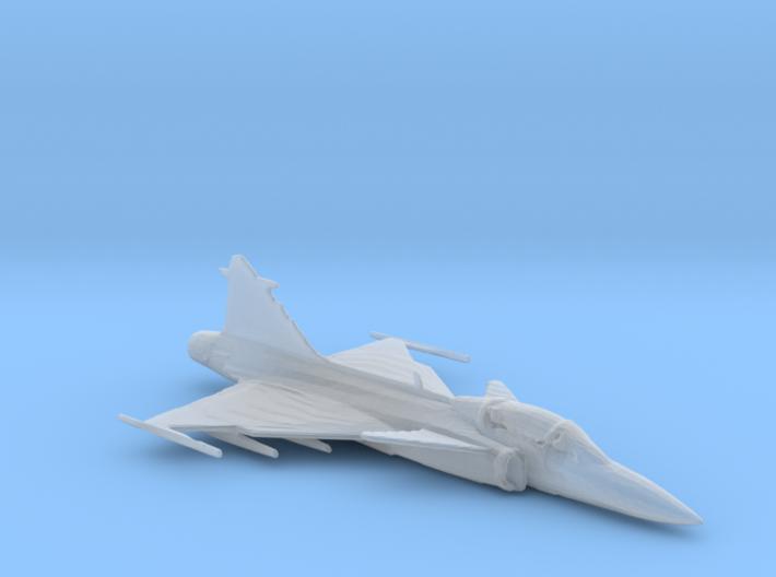 Saab Gripen 1/285 scale 3d printed