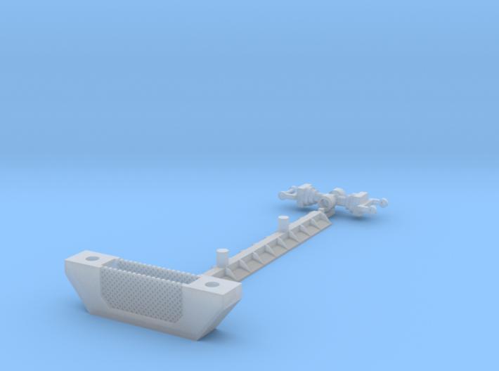 HO/1:87 Vacuum pipe lifter kit 3d printed