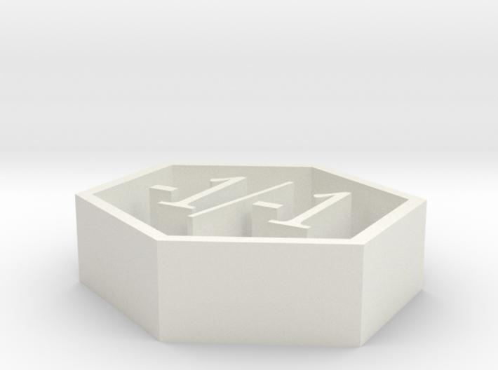 magic -1/-1 counter 3d printed