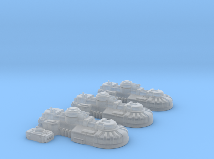 1/270 Rebel T1A Tanks (3) 3d printed