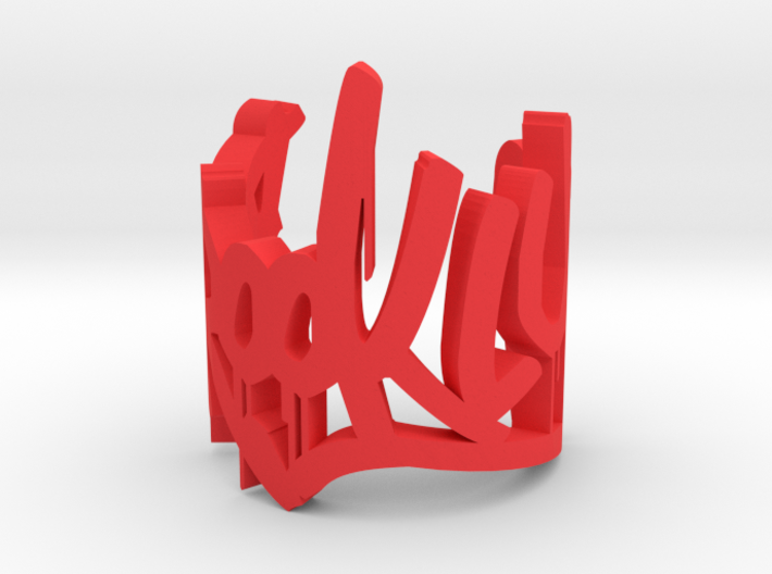 Brooklyn Drip CURVE 3d printed