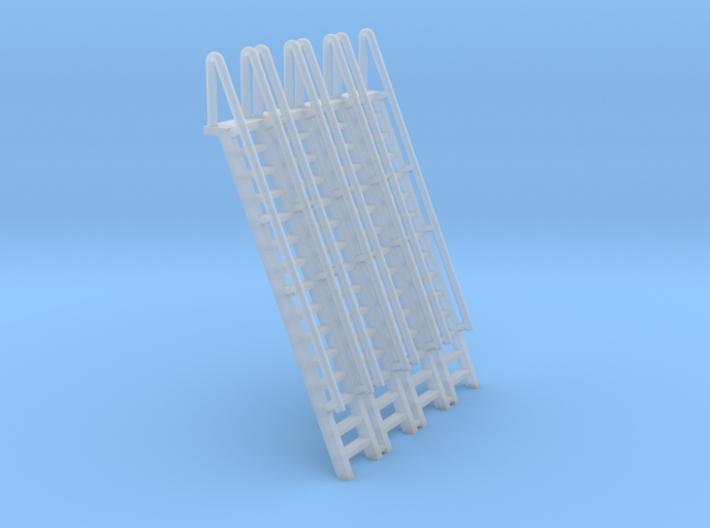 N Scale Ladder 15 (4pc) 3d printed