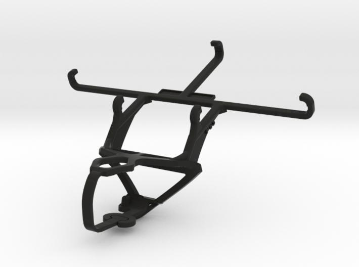 PS3 controller & QMobile Noir Z8 - Front Rider 3d printed