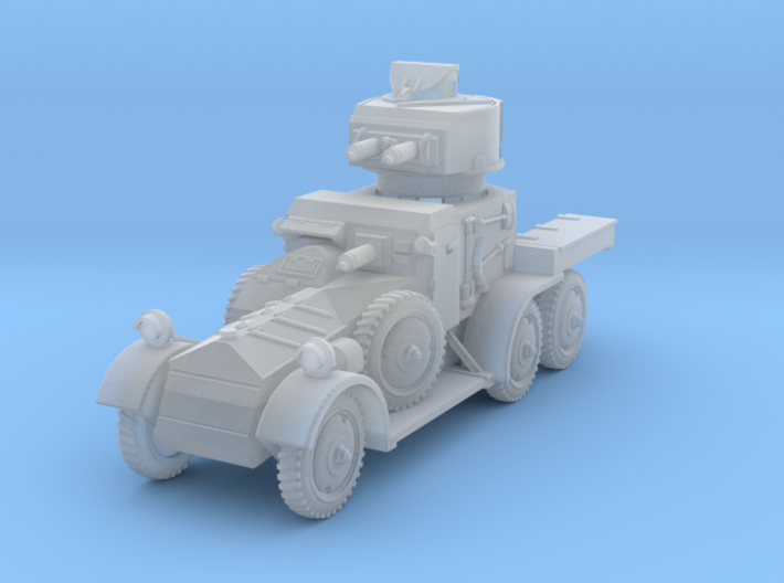 Lanchester MkII (1/144) 3d printed