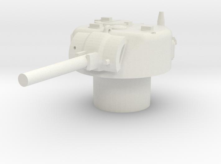 Sherman M4 Turret 15mm / 1/100 3d printed