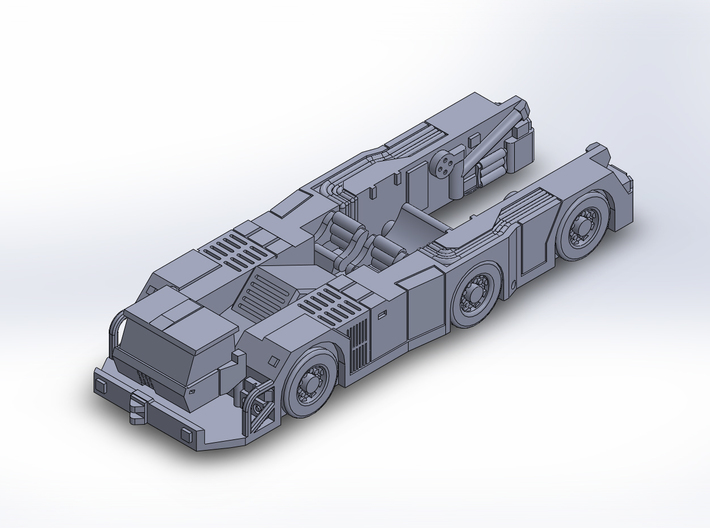 TaxibotWB tractor 3d printed
