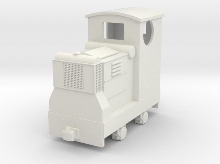 55n9 Ruston 18hp diesel with Cab 3d printed