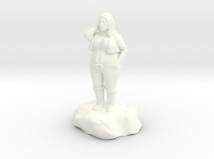 Lirillen, the jolly halfling bard 3d printed