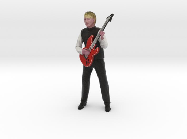 Guitar player 22CM High 3d printed