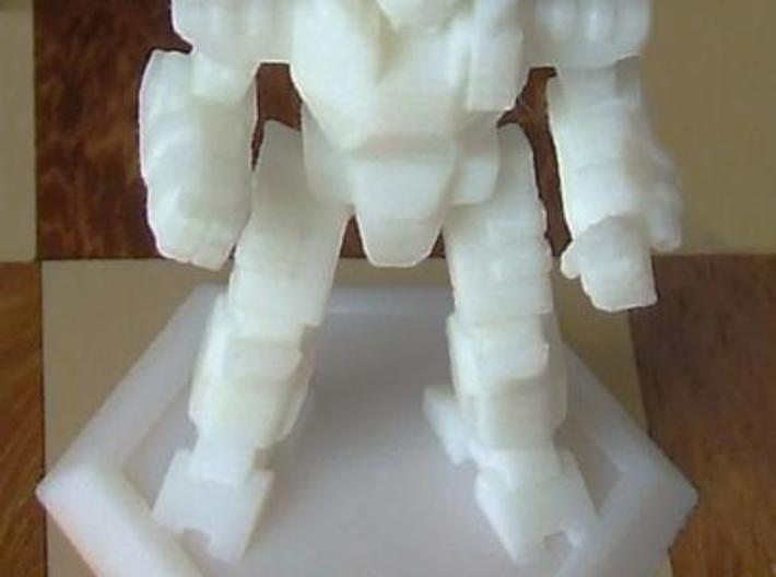 Mecha- Odyssey- Achilles (1/285th) 3d printed White Detail