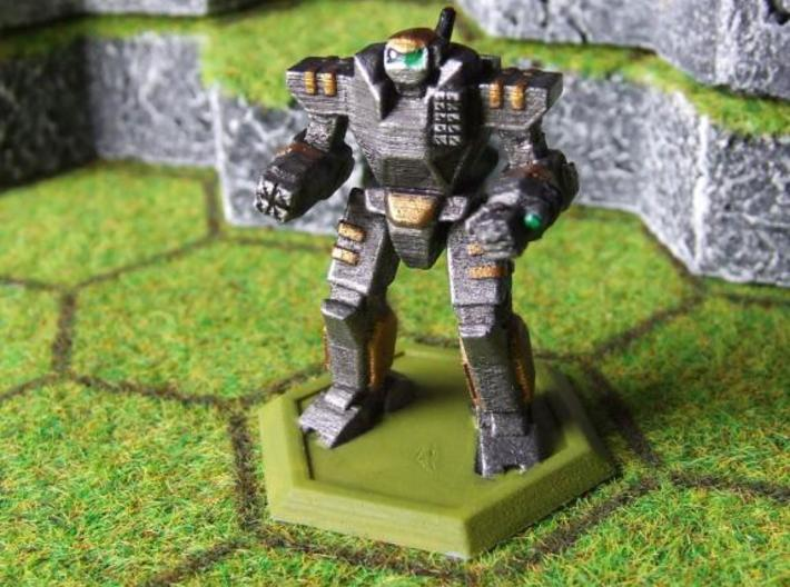 Mecha- Odyssey- Achilles (1/285th) 3d printed Painted