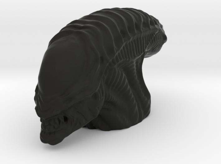 Desk Art Alien Head Big Version 3d printed