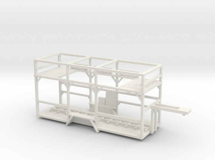 central park racked ride trailer 3d printed