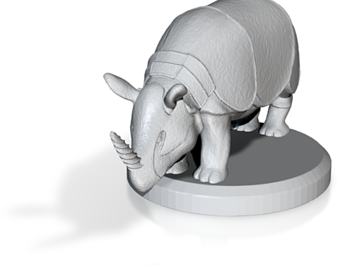19939_Armor_plated_rhinoceros_with_horn_that_looks 3d printed