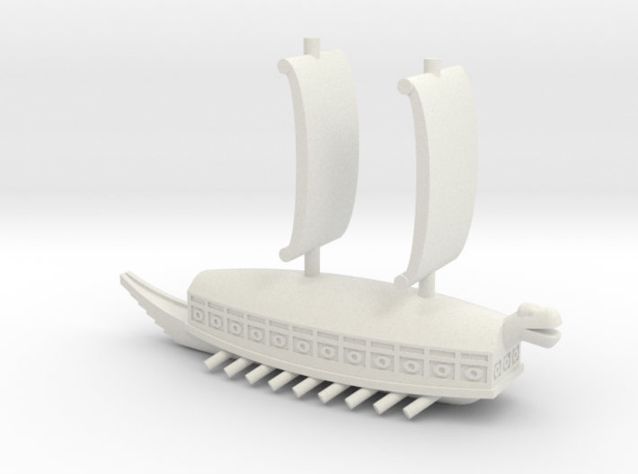 Geobukseon (Turtle Ship) 3d printed