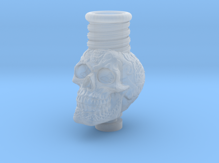 Skull 510 Drip Tip 3d printed