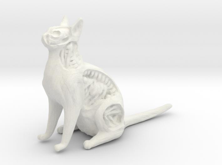White Walker Cat 3d printed