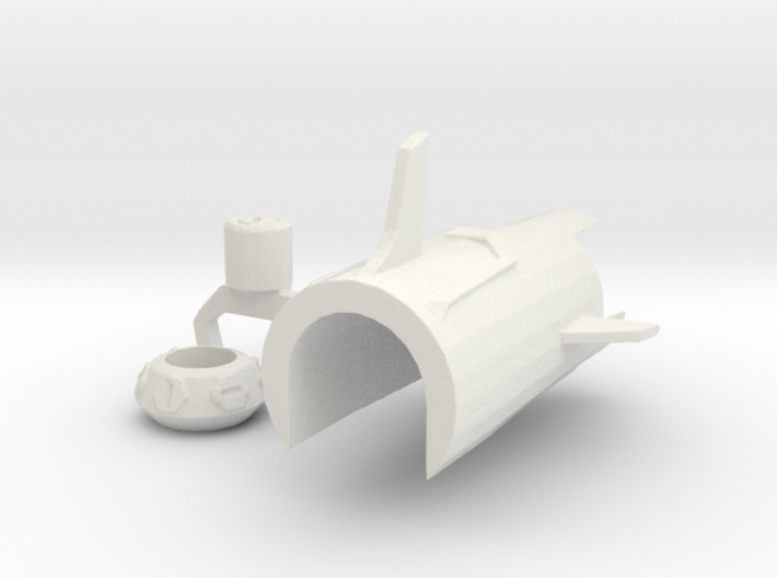 TFP upgrade set for Smokescreen 3d printed