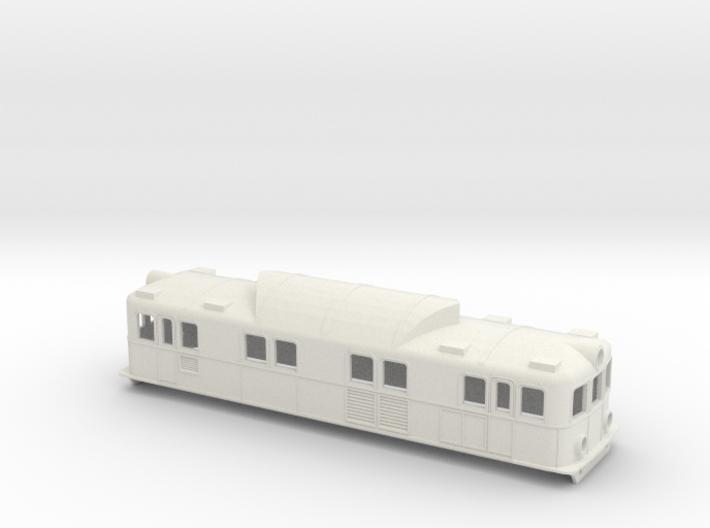 Swedish SJ electric locomotive type Pa - H0-scale 3d printed