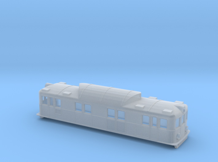 Swedish SJ electric locomotive type Pa - N-scale 3d printed