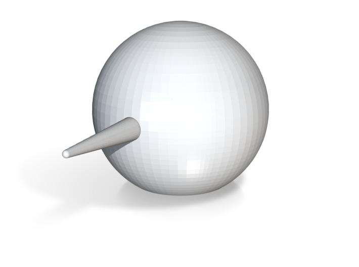 Erotic Spike Ball Objet 3d printed