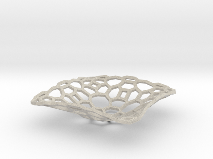 bowl_honey_wire 3d printed