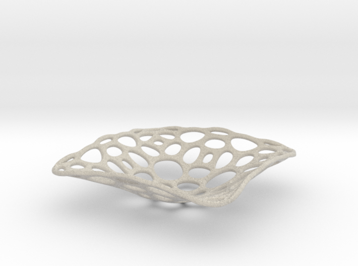 bowl_honey_wire_smooth 3d printed