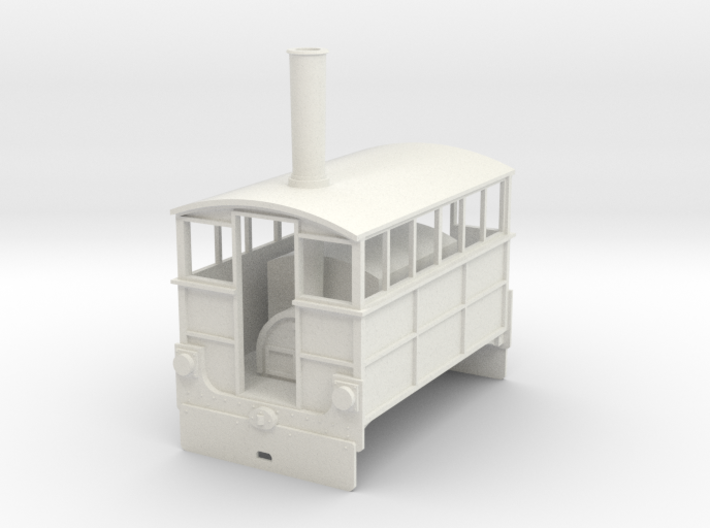Hughes Tram Engine 7mm scale Wantage Tramway 3d printed
