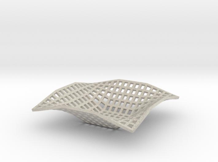 Bowl (Square) 3d printed