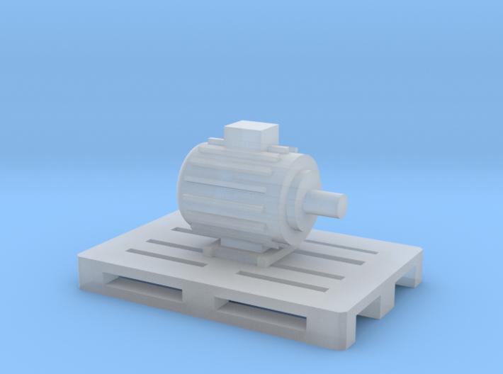 Elektromotor auf Europalette - 1:120 TT 3d printed