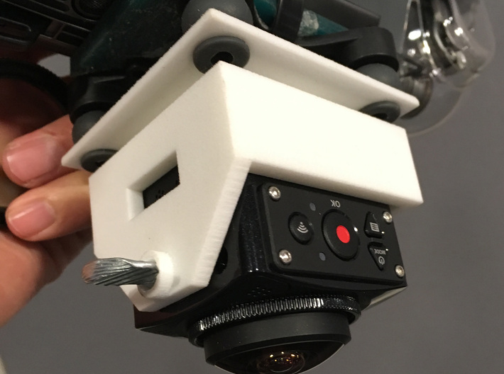 Kodak SP360 4K Bottom Mount for the DJI Mavic Pro 3d printed