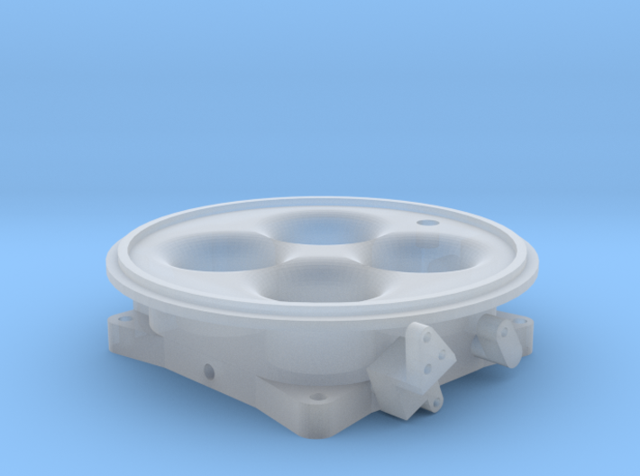 Accufab 1000cfm Throttle Body - 4500 flange 3d printed