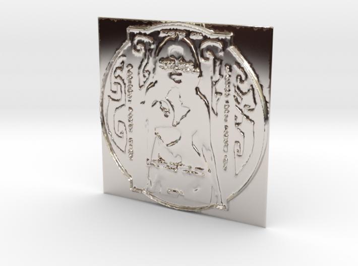 Alpha Realm Platinum Babe Tablet 3d printed