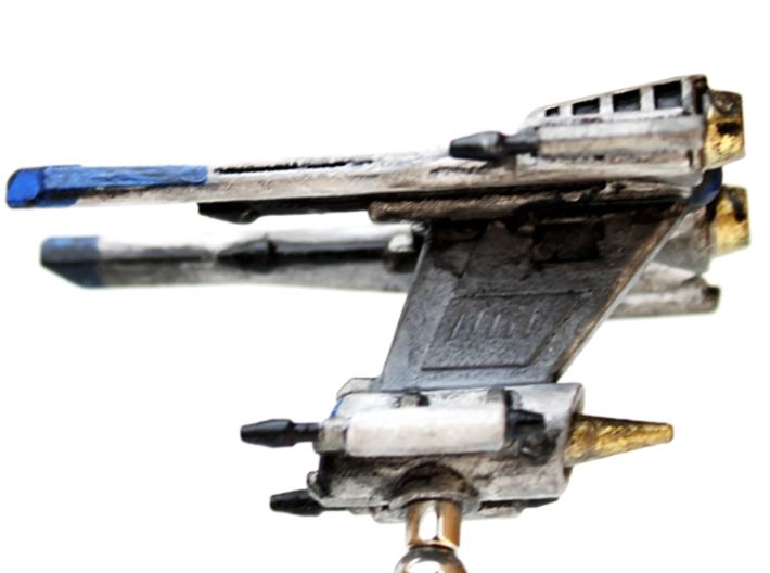 Toth Starfighter: 1/270 scale 3d printed Side view of the Toth Starfighter