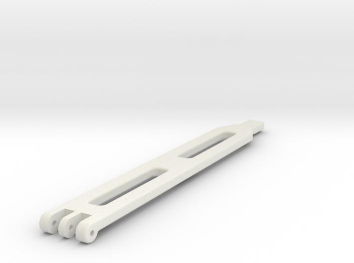 Traxxas TRX 4 Standard LiPo Battery Strap 3d printed