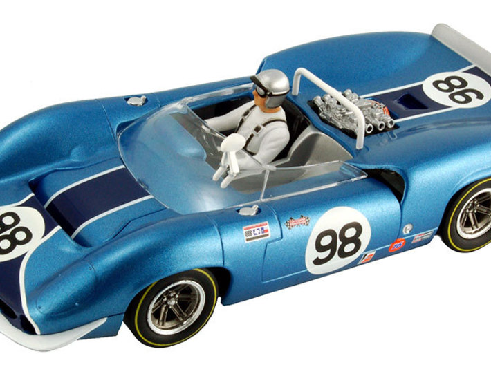 Chassis for Revell/Monogram Lola T70 1/32 3d printed