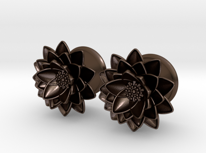Lotus flower 58 ear plugs 16mm 5ke935vey by angelofdeath lotus flower 58quot ear plugs 16mm 3d printed mightylinksfo