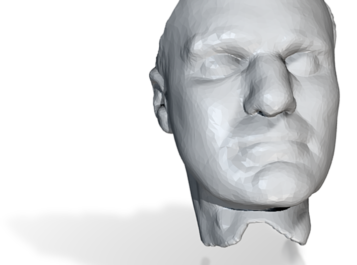 Sculpture face 3d printed