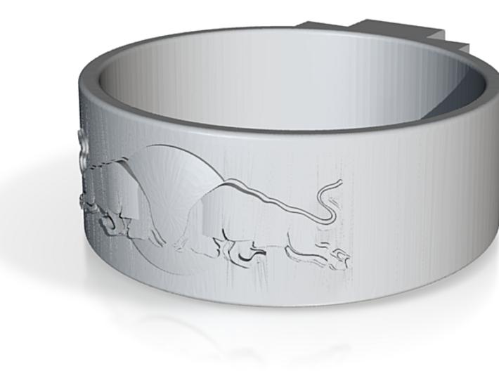 ReBull ring size 6.5 3d printed