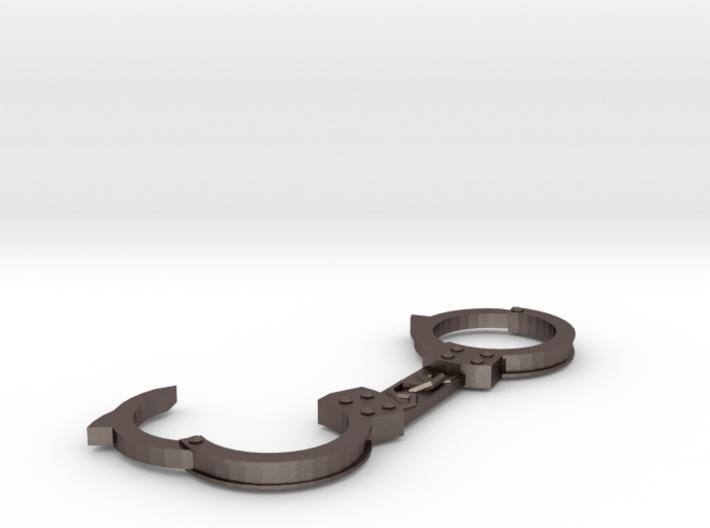 Handcuffs pendant 3d printed