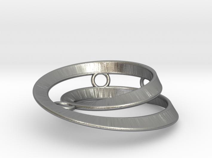 Mobius split loop 3d printed