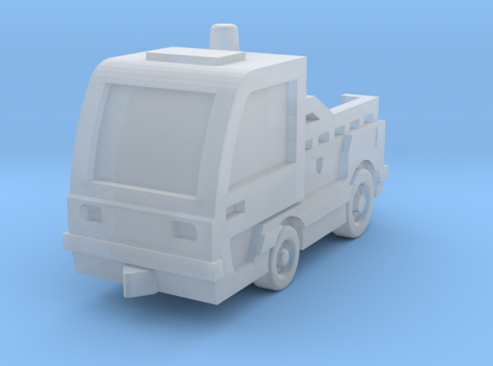 Comet3E tractor 3d printed