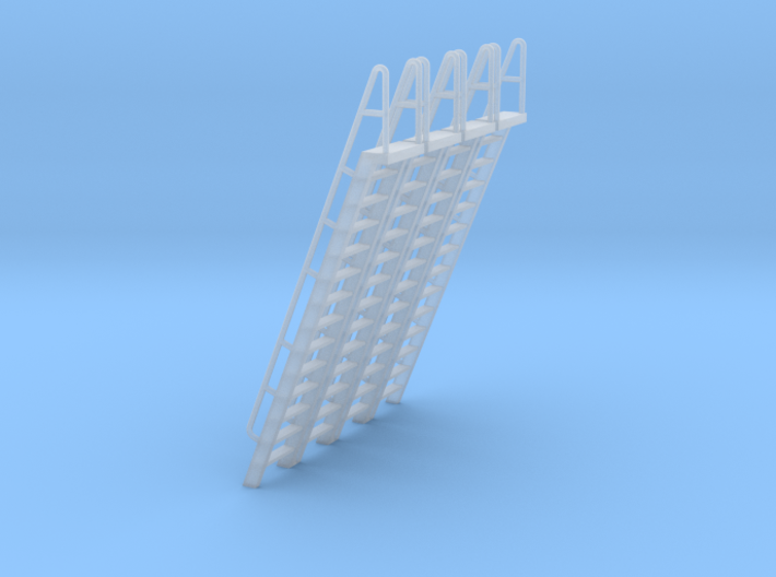 HO Scale Ladder 14 3d printed