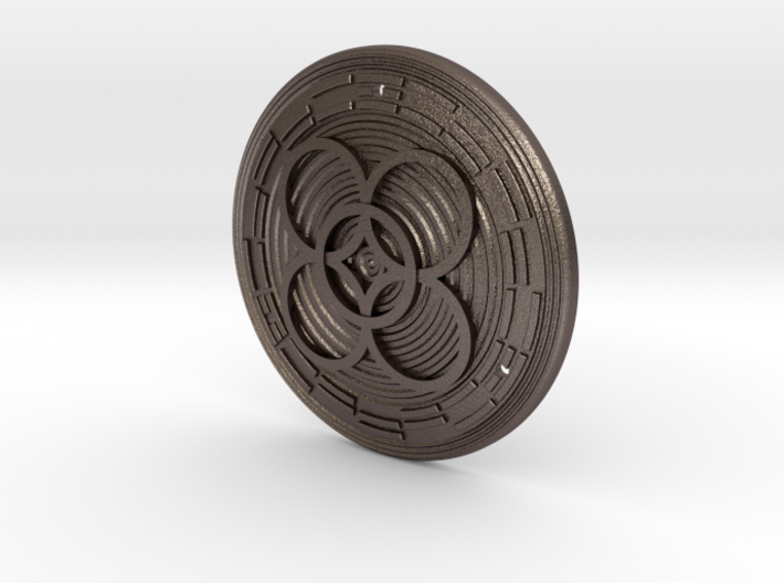 African Talisman for Extravagance 3d printed
