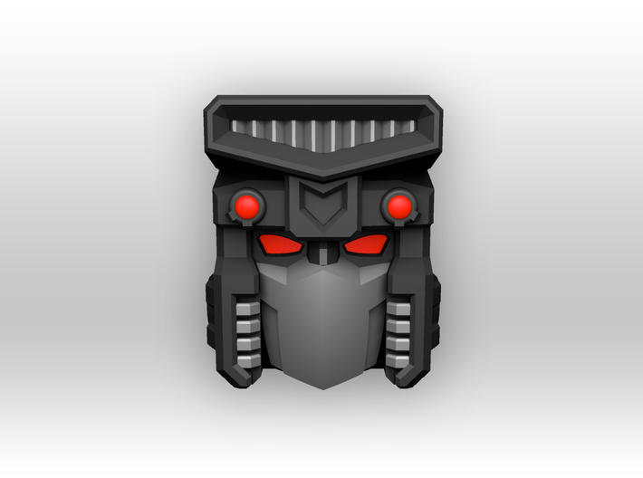 'Gravedigger' bot head for CW Hot Spot 3d printed