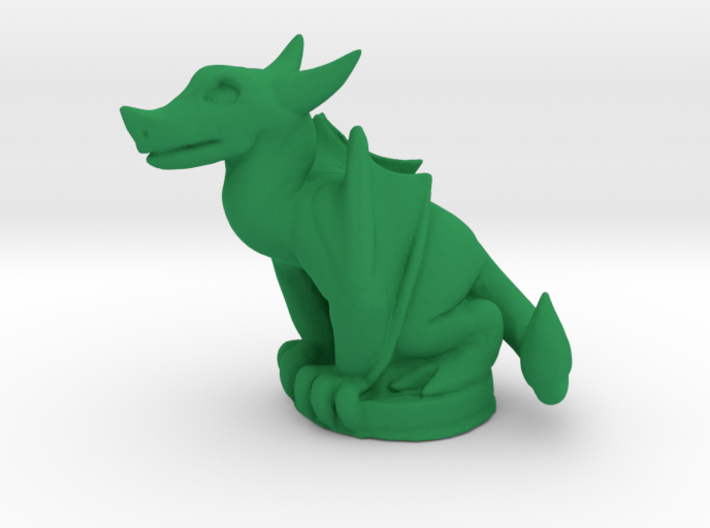 Wyvern Dragon (Chthonic Souls Edition) 3d printed