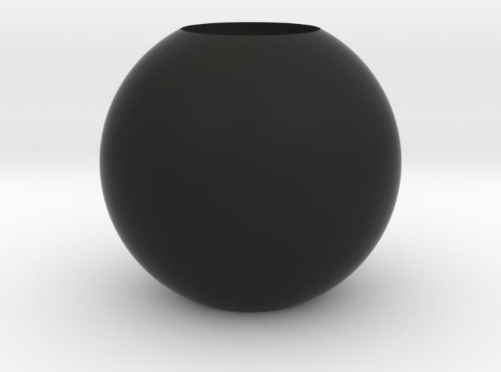 Acoustic Sphere 50mm (22mm mic) 3d printed